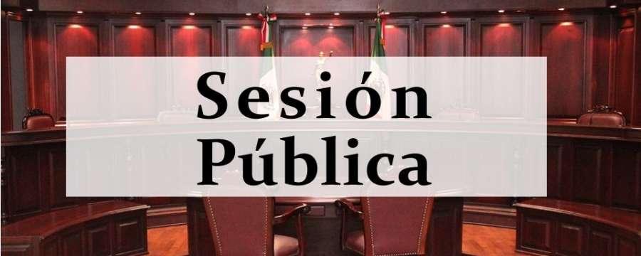 Sesión Pública - 29 de Mayo de 2021