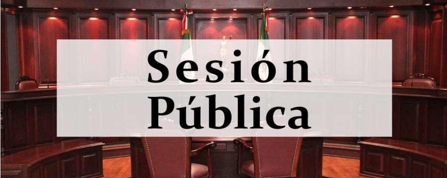 Sesión Pública - 23 de Octubre de 2019