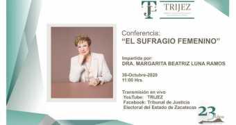 Copy of 23 Aniversario del Tribunal de Justicia Electoral del Estado de Zacatecas
