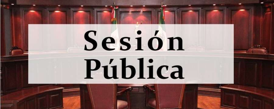 Sesión Pública - 19 Julio de 2021